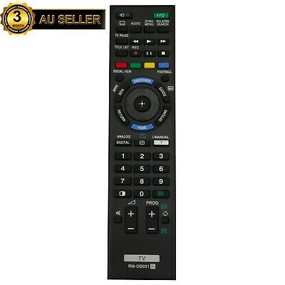 AU17.72 • Buy NEW Remote Control For SONY TV RM-GD030 RM-GD031 KD KDL Series LCD AU