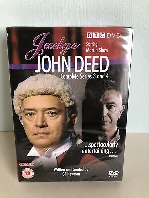 £8.99 • Buy JUDGE JOHN DEED Series 3 & 4 Complete DVD Martin Shaw. NEW AND SEALED.