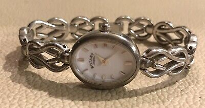 £75 • Buy Solid 925 Sterling Silver Rotary Ladies Dress Watch