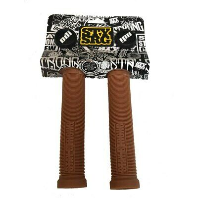 £19.61 • Buy ODI Stay Strong Lion Heart BMX / Scooter Bicycle Cycle Bike Grips Brown - 143 MM