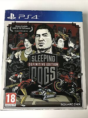 £12.49 • Buy Sleeping Dogs: Definitive Edition ( Playstation 4, PS4 )