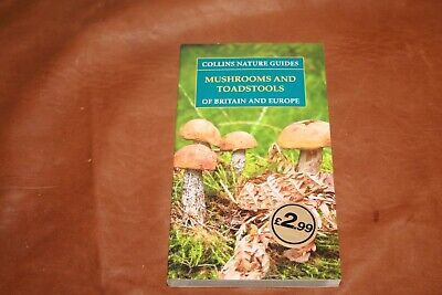 £2.99 • Buy Collins Nature Guide Mushrooms And Toadstools