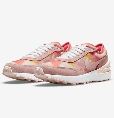 £80 • Buy Nike Waffle One Petal Power Pack Pale Coral Magic Ember White All Sizes