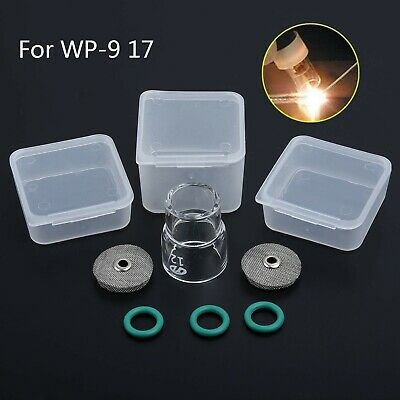 AU29.01 • Buy 6Pcs #12 Fupa Glass Pyrex Cup TIG Welding Tool Kit For WP-9 WP-17 18 26 Gas Lens