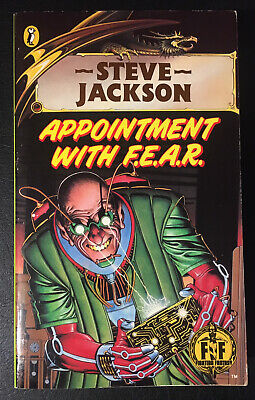 AU37.07 • Buy APPOINTMENT WITH F.E.A.R. Fighting Fantasy #17 1/7 Bronze Dragon Unnumbered VG+