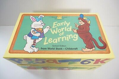 £108.93 • Buy Early World Of Learning World Book Learning Readiness Program School Edition