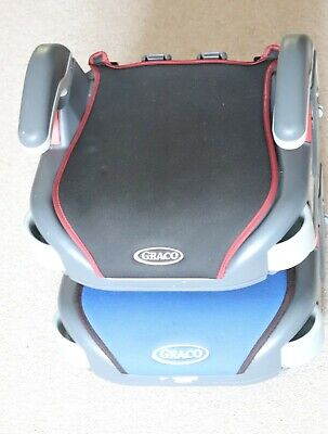 £13 • Buy GRACO Car Booster Seats (Pair) With Armrests & Cupholders 4-12yrs, 5-36kg