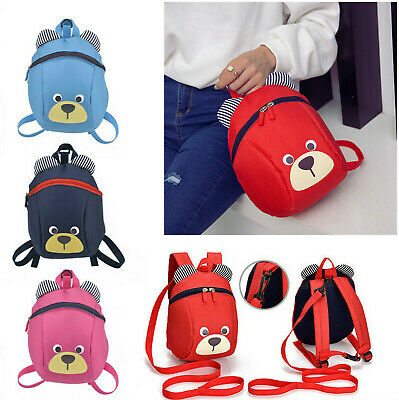 £6.99 • Buy Kids Toddler Baby Walking Safety Harness Backpack Security Strap Bag With Reins