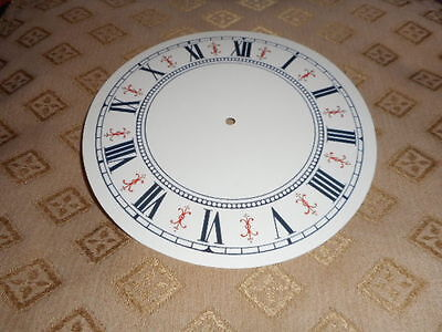 £4.04 • Buy Round Vienna Style PAPER (CARD) Clock Dial/Face - 5  MINUTE TRACK - GLOSS CREAM