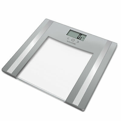 £23.51 • Buy Salter Glass Body Analyser Weighing Scale, Athlete Mode, 8 User Memory, Grey