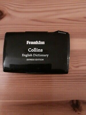 £8.99 • Buy Franklin Collins English Dictionary Express Edition With Thesaurus