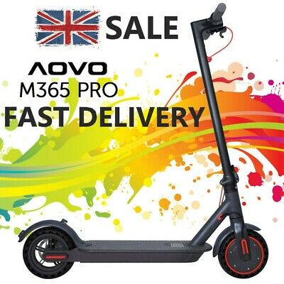 View Details AOVO PRO M365 ELECTRIC SCOOTER 10Ah BATTERY - XIAOMI PRO 2 STYLE 31KM/H GENUINE • 319.99£