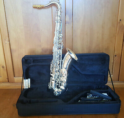 AU850 • Buy Tenor Saxophone - New - Masterpiece Silver-Plated - Optional Gold Mouthpiece