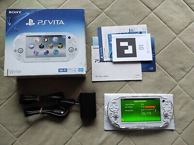 £185.18 • Buy PS Vita 2000 White Japan *Mint* Firmware 3.60 PlayStation (Complete) Hori