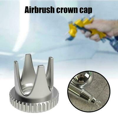 £2.79 • Buy 1Pc Brass Airbrush Crown Shape Needle Cap Air Brush Accessories Parts Brand K9W2