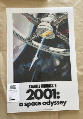 """£179.99 • Buy 2001: A SPACE ODYSSEY Lenticular 1mm PET 24x36"""" Movie Print Poster BNG NT Mondo"""