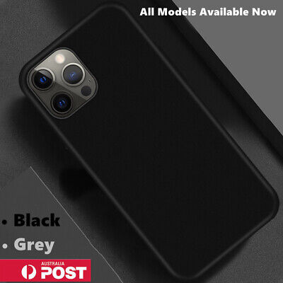 AU8.99 • Buy Silicone Slim Shockproof Back Case Cover For IPhone 12 11 Pro XS MAX X XR 7 Plus