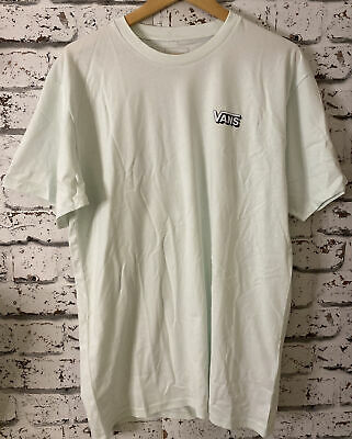 £12.99 • Buy Mens Vans Off The Wall Sole Palm Mint T Shirt Size L NWT
