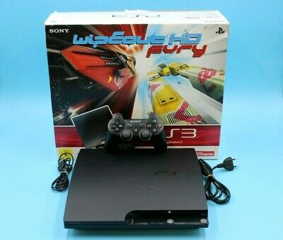 £110.98 • Buy Sony PlayStation PS3 Slim 120GB CECH-2004A - Wipeout Fury HD Edition - In OVP