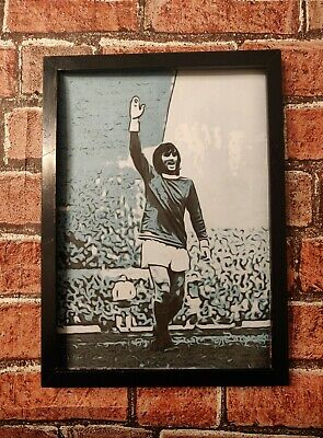 £3.59 • Buy Manchester United Legend George Best Pop Art Tribute Football Picture