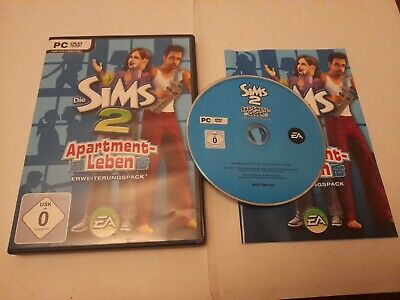 £9.48 • Buy GERMAN RELEASE The Sims 2 Apartment Life Expansion PC DVD Rom + Instructions SN