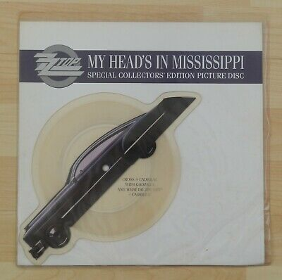 £24.99 • Buy ZZ Top My Head's In Mississippi Shaped Picture Disc Vinyl Record UK W0009P