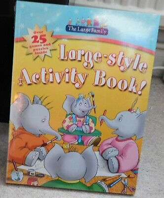 £10 • Buy Walker Books - The Large Family Activity Books X 5