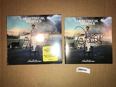 £130.93 • Buy One Direction Niall Horan Signed Autographed CD Heartbreak Weather