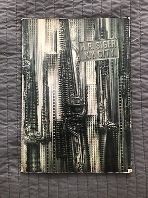 £163.40 • Buy 1981 HR Giger NY City SIGNED 1st Edition Paperback - Ugly Publishing Zurich