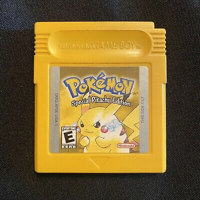 $49.99 • Buy Nintendo Gameboy Pokemon Yellow Special Pikachu Edition - Authentic Works Saves