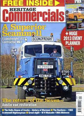 £6.99 • Buy Heritage Commercials Magazine 2013 Apr - History Of Marmon, Scammell Highwayman