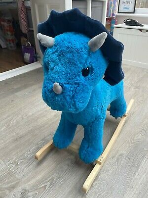 £30 • Buy BN Dunelm Dinosaur Rocking Horse With Musical Sounds -baby Toy