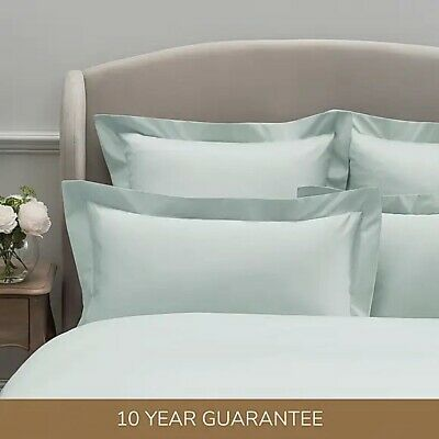 £5.49 • Buy Dorma 300 Thread Count 100% Cotton Sateen Plain Pillow Cases - Sold Separately