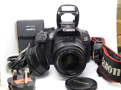 £279 • Buy Canon EOS 650D + 18-55mm F/3.5-5.6 IS II DSLR Kit 11267 Actuations 32GB Card A++