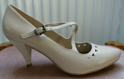 £26 • Buy NEXT Beige Sole Reviver Cushion Lining High Heel Shoes Size 5.5 BNWO Box