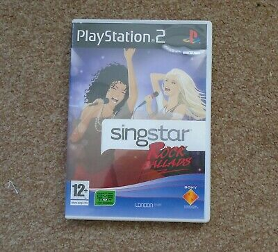 £3.99 • Buy Singstar Rock Ballads - Sony PlayStation 2 PS2 - With Manual