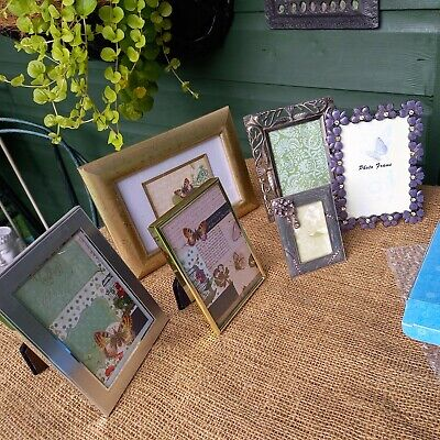 £27.50 • Buy 6 X Easel Back Photo Frames 4x Shudehill Plus 2 Others - Mainly 4  X 6  Aperture