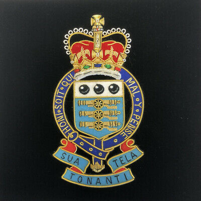 £12 • Buy Royal Army Ordnance Corps Wire Embroidery Badge