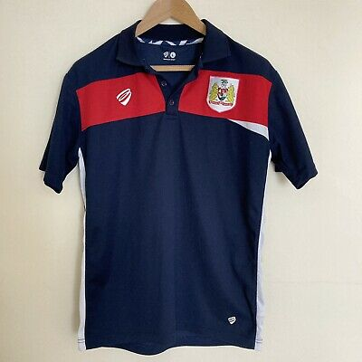 £17.99 • Buy Bristol City FC Football Training Shirt Casual Top With Collar Men's Size Large