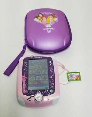 £18.88 • Buy Leap Frog Leappad 2 Disney Princess Case Learning Video Game System Lot W Games