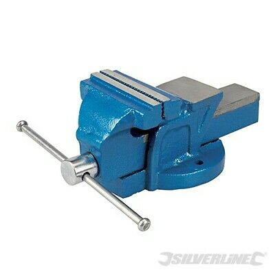 £17.99 • Buy Silverline 100mm Engineers Vice Jaw Capacity 120mm / 4.5kg Fixed Base 633792