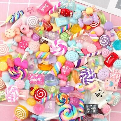 AU15.95 • Buy Crafts Scrapbooking Supplies Slime Charms Phone Charm Nail Decoration
