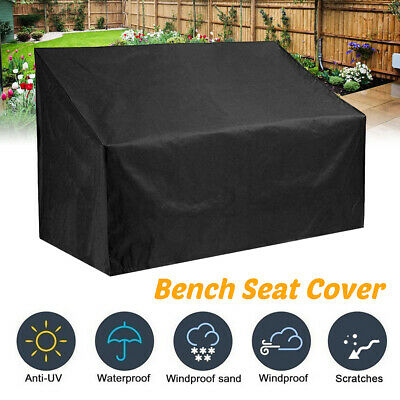AU21.12 • Buy 2/3/4 Seater Bench Seat Cover Outdoor Garden  Waterproof Furniture UV Protection