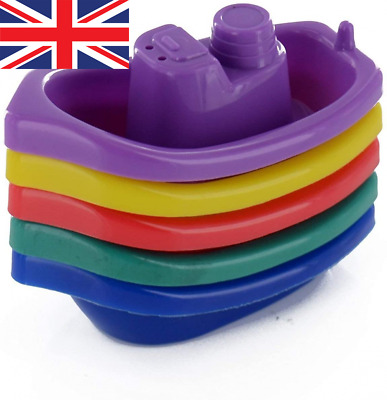 £6.52 • Buy New Kids Childrens Baby Bathtime Boats Floating Water Tub Toys Fun Play...