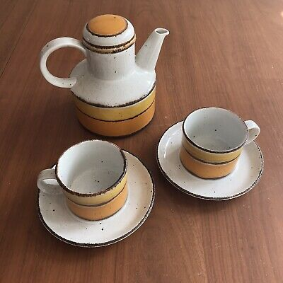 £80 • Buy Midwinter Stonehenge Sun Coffee Pot, Cups And Saucers