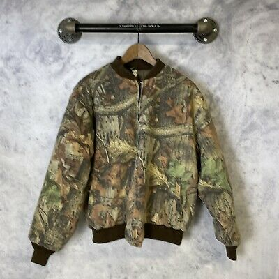 £25.65 • Buy VTG Ranger Advantage Timber Camouflage Insulated Jacket Zip Up Made In USA L