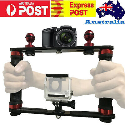 AU76.90 • Buy Underwater Tray Housings Arm Kit For Gopro Camera Holder Diving Flash Arm Light