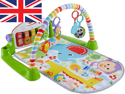 £54.37 • Buy Fisher-Price Kick And Play Piano Gym Baby Toy