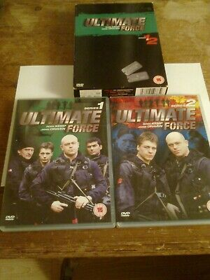 £5 • Buy Ultimate Force. Series 1 And 2 DVDs Boxed Set. Good Condition
