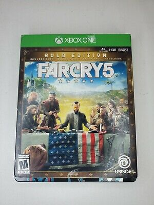 AU41.04 • Buy Far Cry 5: Gold Edition With Steelbook (Microsoft Xbox One, 2018) Tested